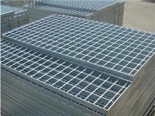 镀锌钢格板(热镀锌钢格栅板、镀锌网格栅)