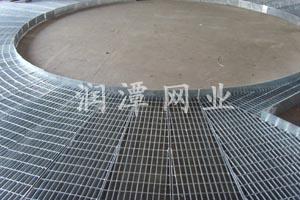 应用于电厂的异形钢格栅踏步板