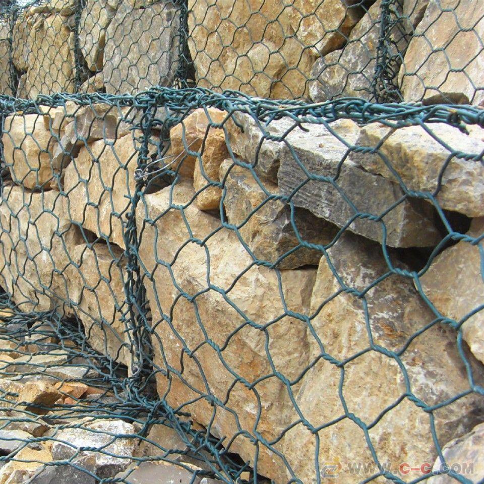 覆塑(包塑)石笼网