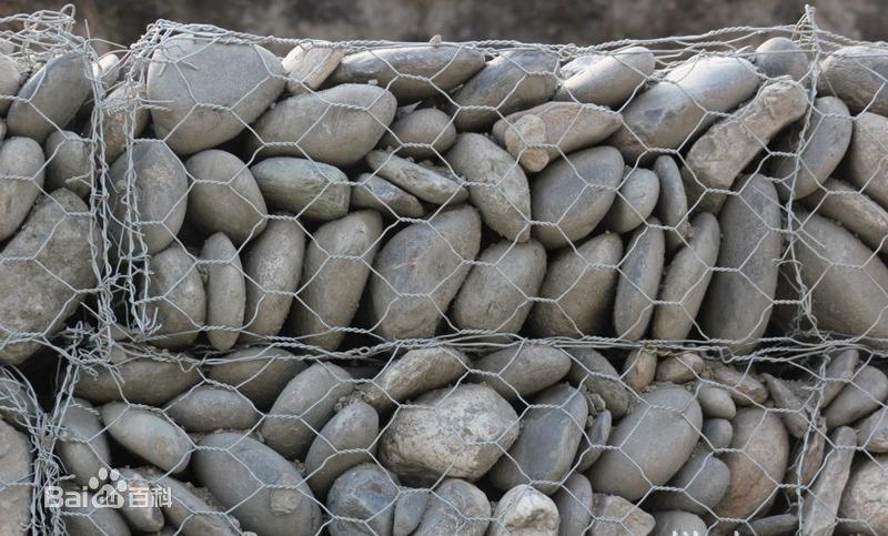 镀锌石笼网工程挡墙