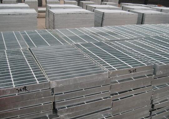 电厂脱硫塔平台走道异型钢格栅板