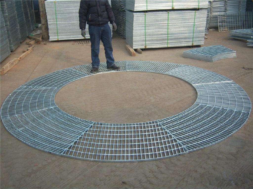 吸收塔扇形平台钢格板