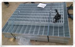 钢格栅板在建筑钢结构中的广泛应用