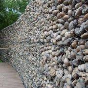 什么是石笼网挡土墙、石笼网挡土墙的社会应用